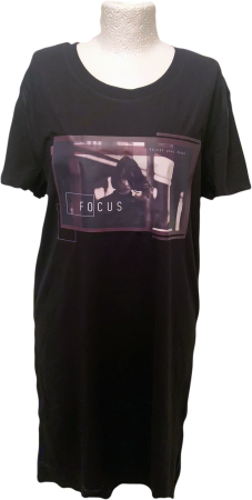 Long Shirt T-Shirt-Kleid Focus
